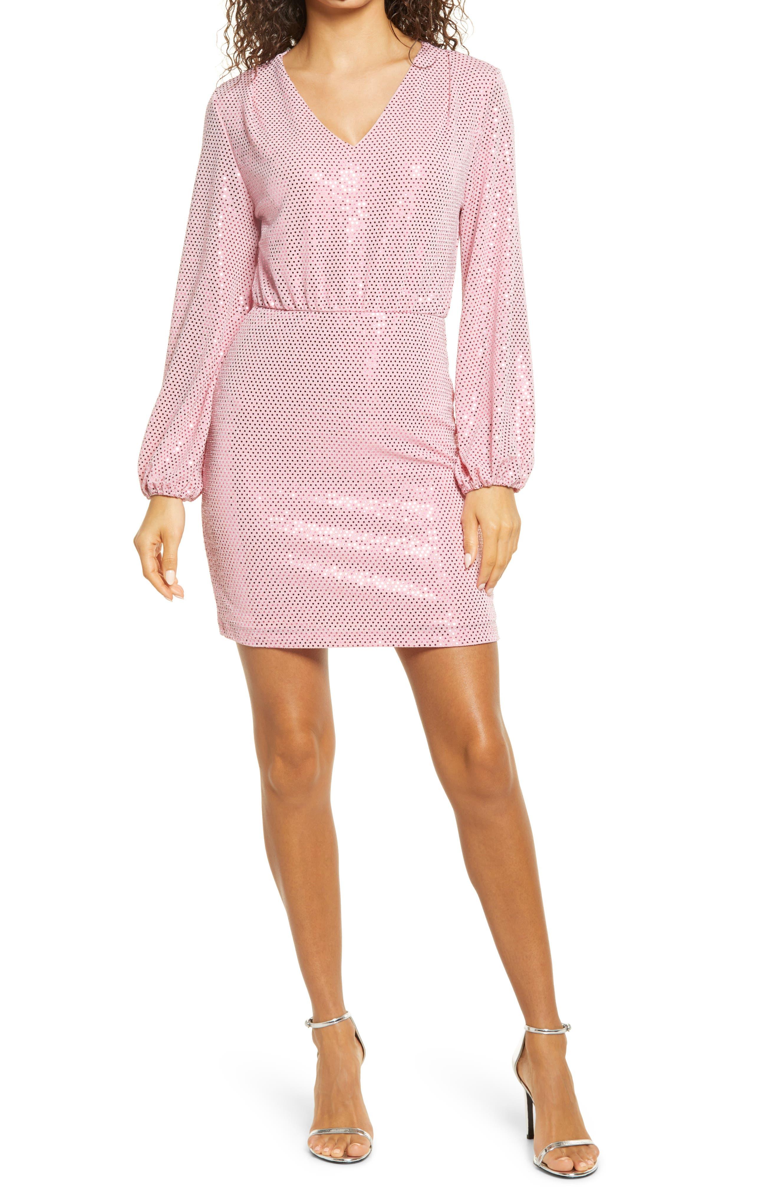 Long Sleeve Minidress