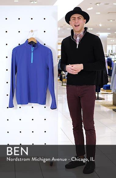 Tate Quarter Zip Pullover, sales video thumbnail