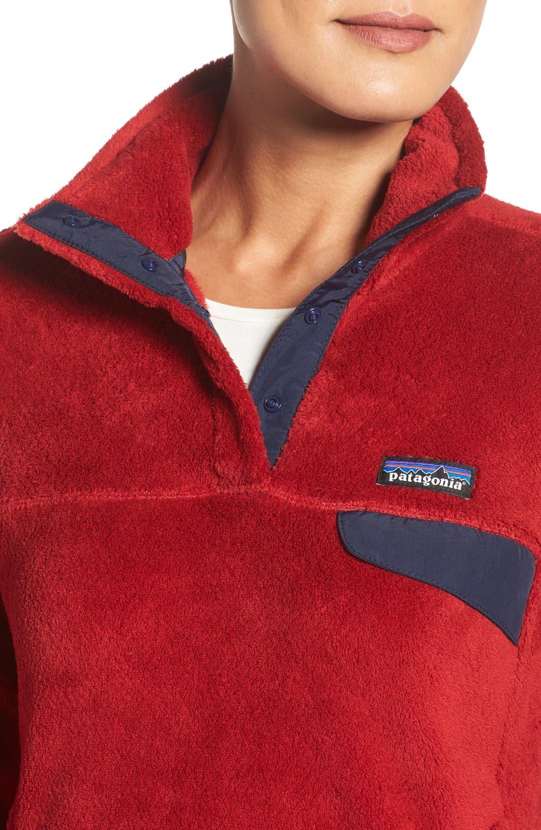 ,                             Re-Tool Snap-T<sup>®</sup> Fleece Pullover,                             Alternate thumbnail 179, color,                             606