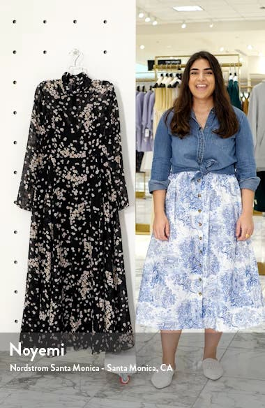 Ruxley Long Sleeve Maxi Dress, sales video thumbnail