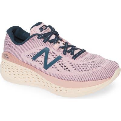New Balance Fresh Foam Mor Running Shoe, Pink