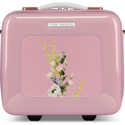 Ted Baker London Elegant Print Vanity Case - Pink