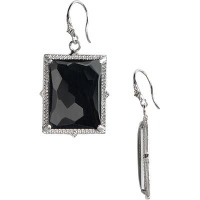 Armenta Hematite Doublet Drop Earrings