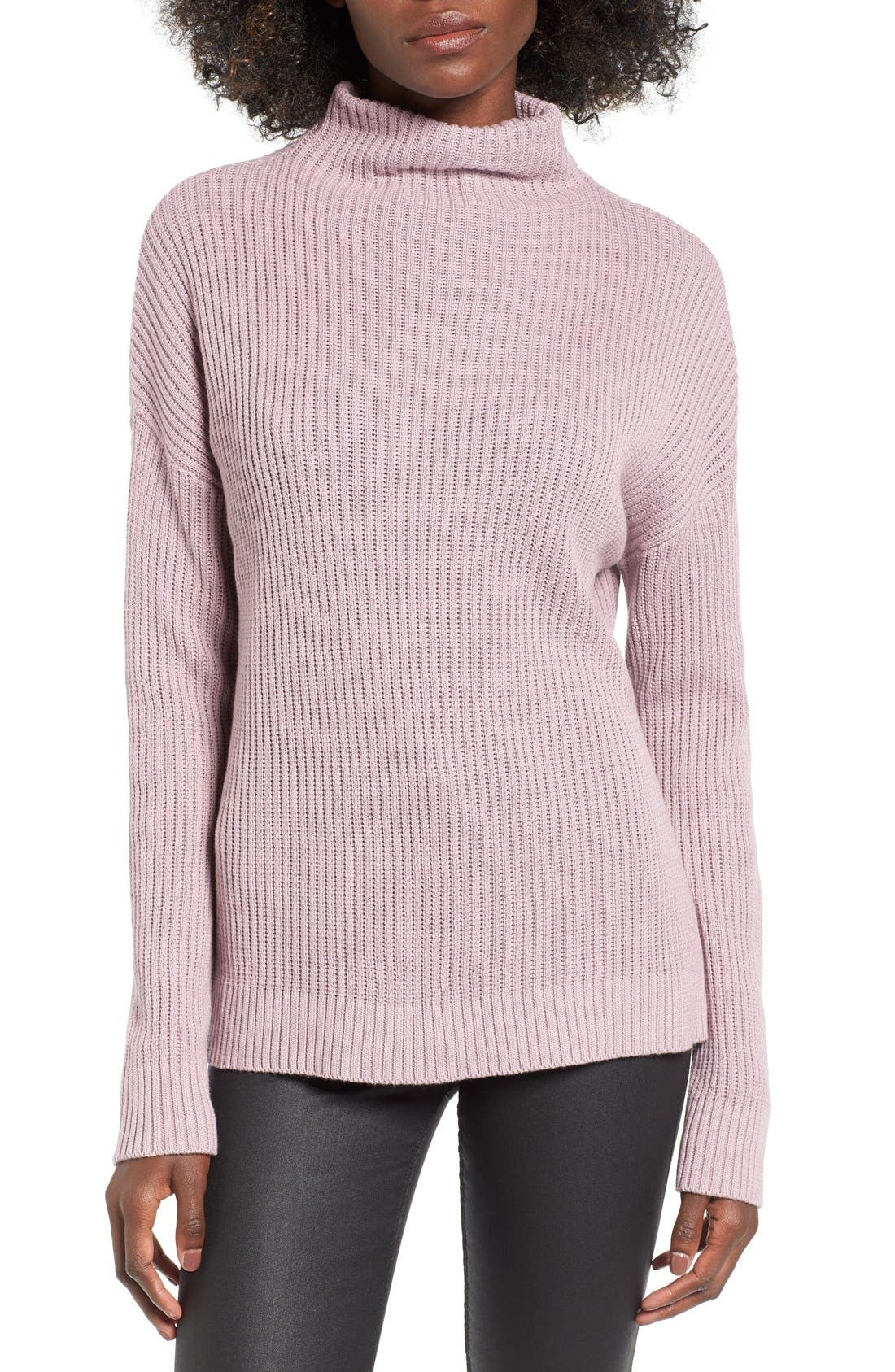 ,                             Mock Neck Sweater,                             Main thumbnail 26, color,                             530