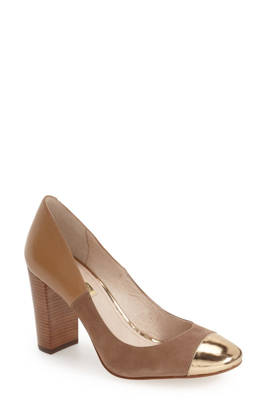 ,                             'Jakleen' Cap Toe Pump,                             Main thumbnail 5, color,                             710