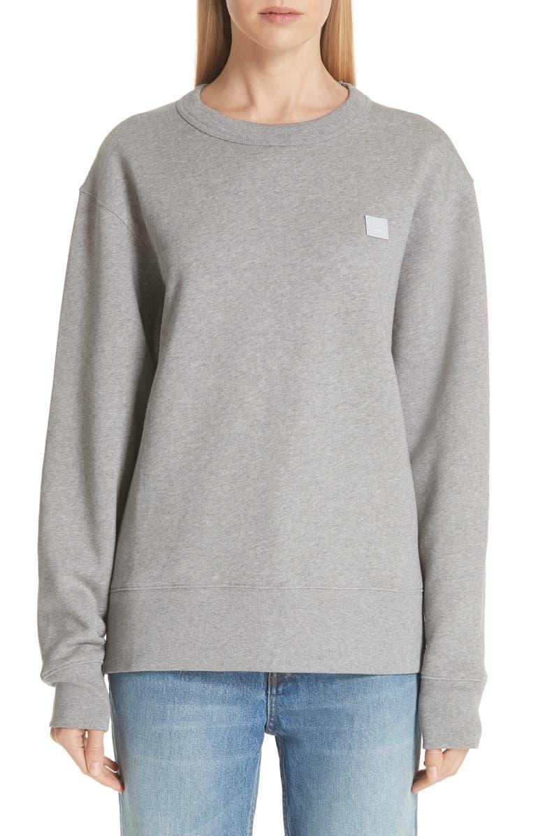 ACNE STUDIOS Fairview Sweatshirt, Main, color, 020