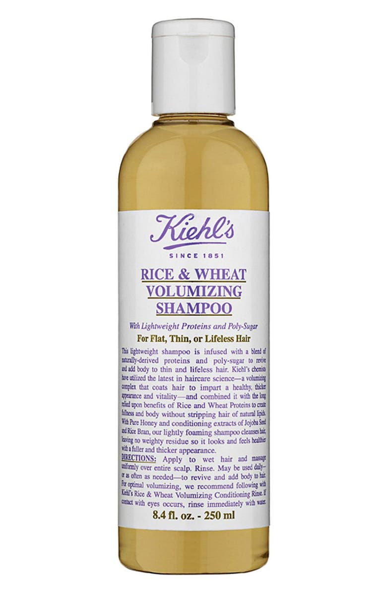 KIEHL'S SINCE 1851 Rice & Wheat Volumizing Shampoo, Main, color, NO COLOR