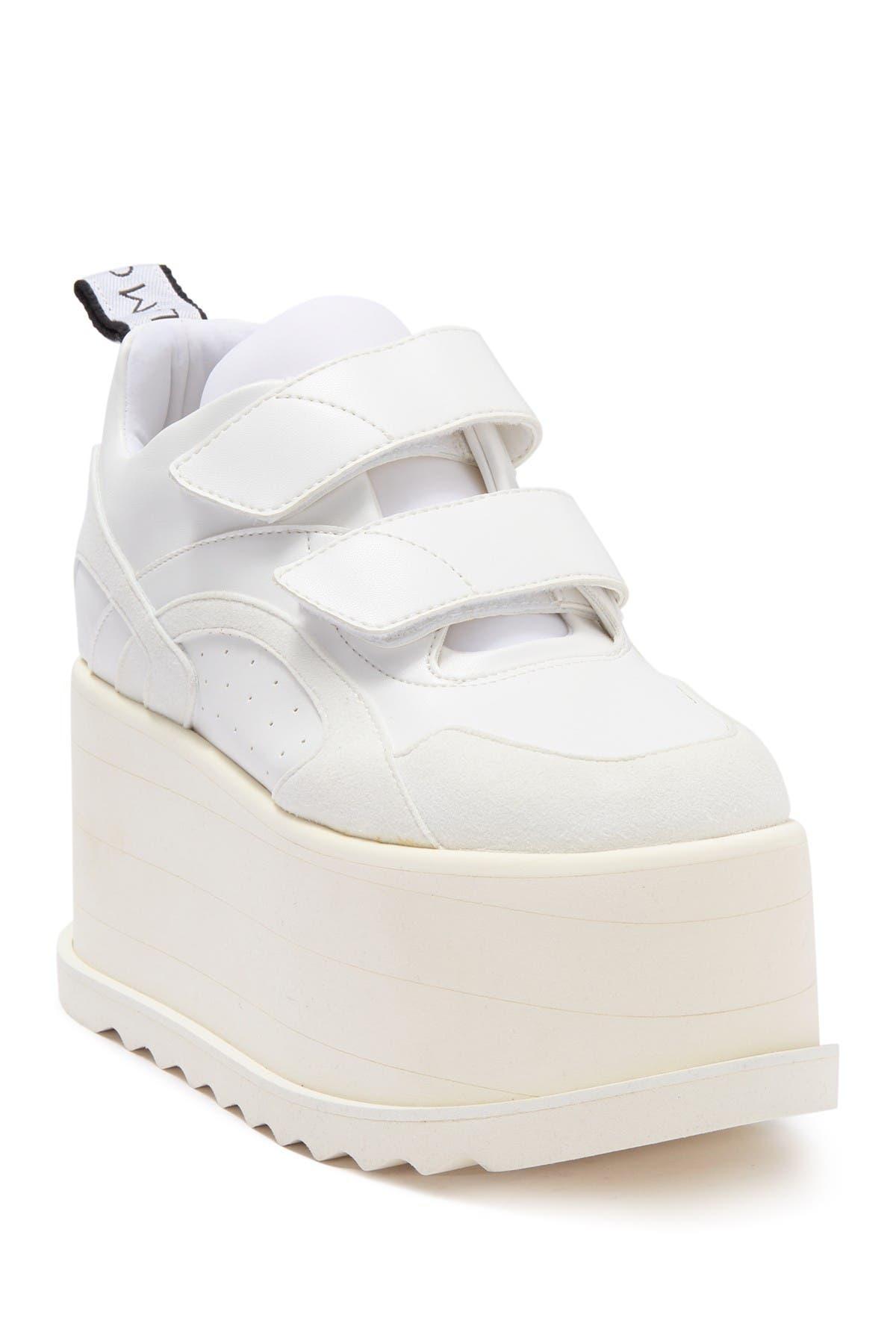 Image of Stella McCartney Chunky Platform Hook-And-Loop Strap Sneaker