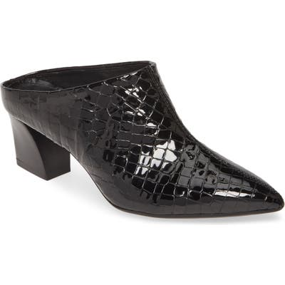 Agl Pointy Toe Mule, Black