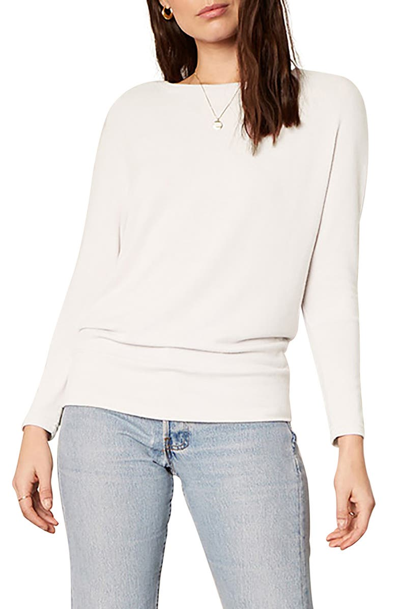 CUPCAKES AND CASHMERE Ivery Emily's Favorite Sweatshirt, Main, color, IVORY