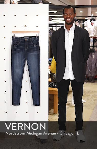 Luxe Touch High Waist Skinny Ankle Jeans, sales video thumbnail