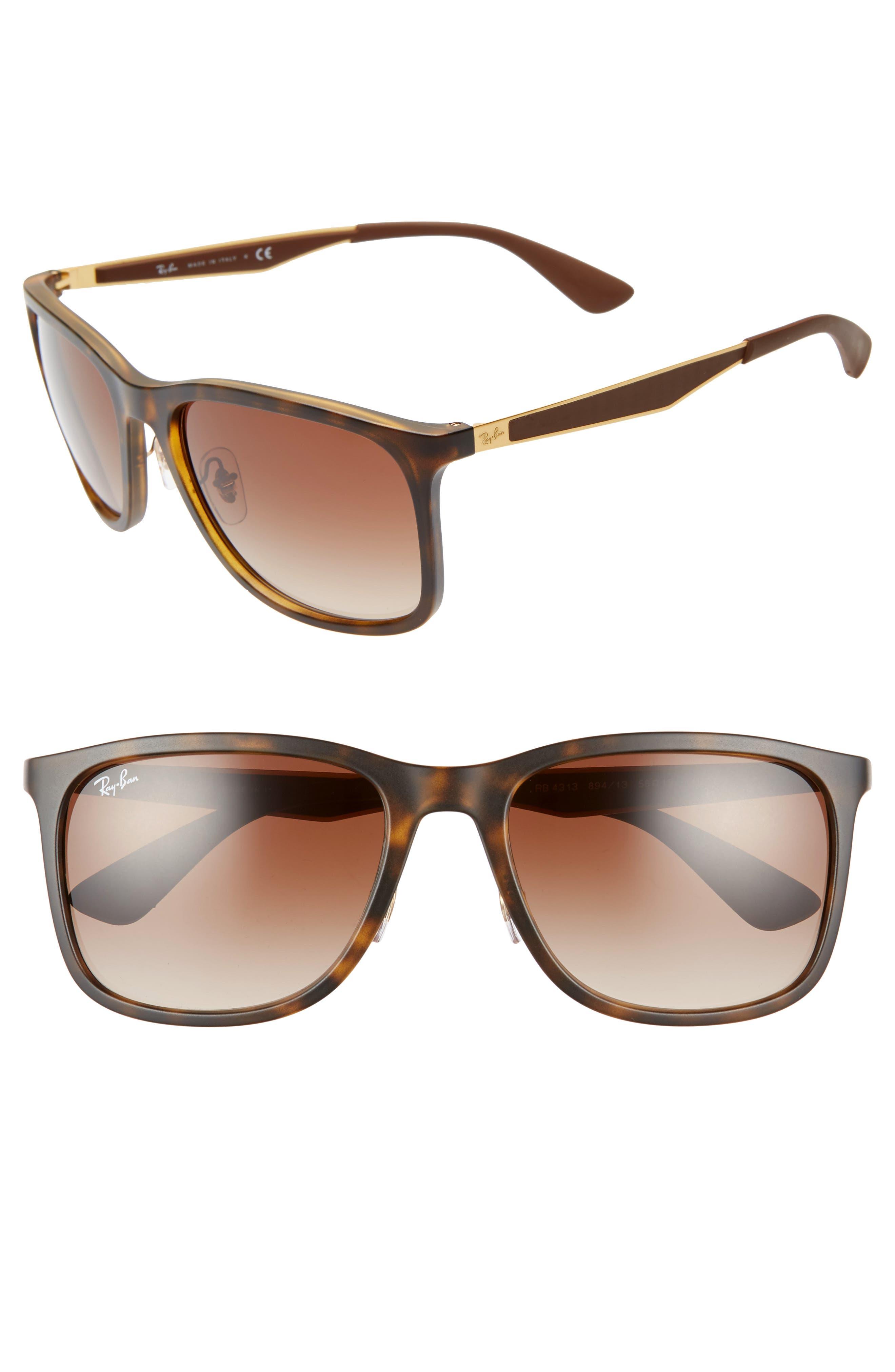 Ray-Ban 5m Square Sunglasses - Matte Havana