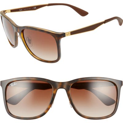 Ray-Ban 5m Square Sunglasses - Matte Havana