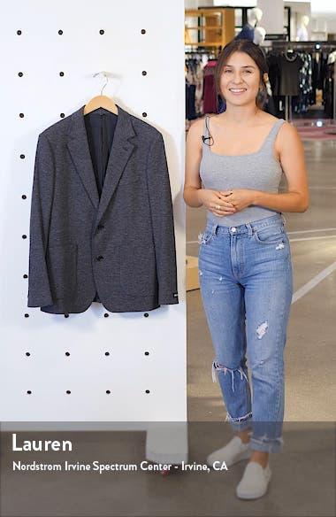 Slim Fit Knit Sport Coat, sales video thumbnail