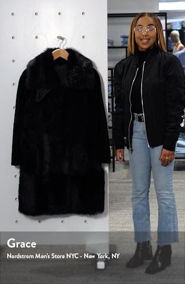 Sobesta Genuine Shearling Coat, sales video thumbnail