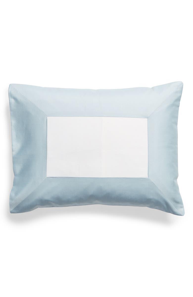 SFERRA Casida Boudoir Pillow, Main, color, WHITE/ POOLSIDE