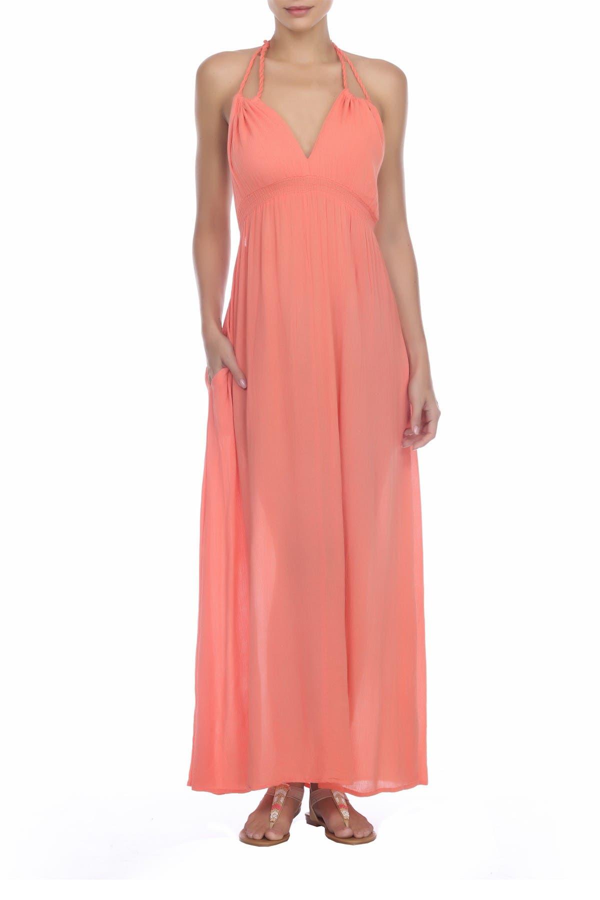 Image of BOHO ME Halter Maxi Dress