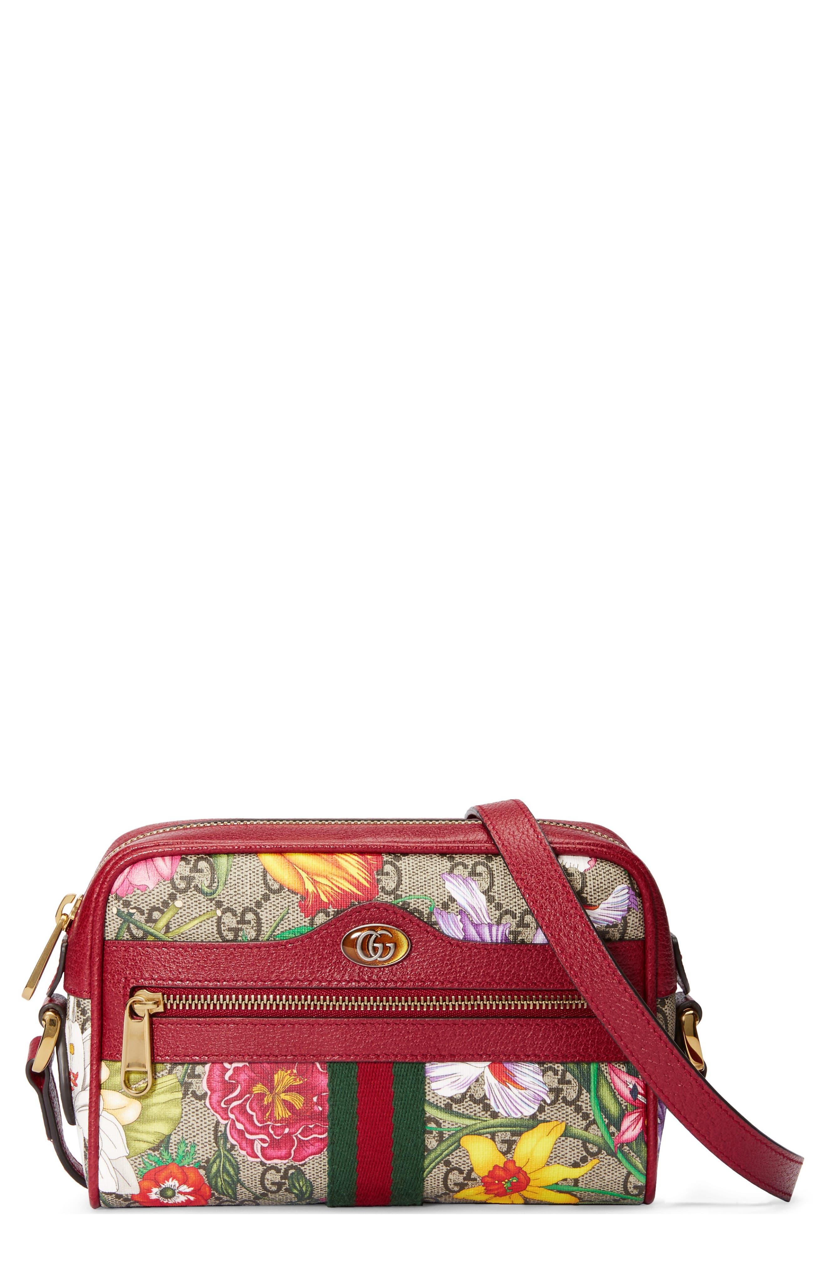 Floralby Women Girl Mini Canvas Cross Body Shoulder Bag Exercise People Phone Bag Purse