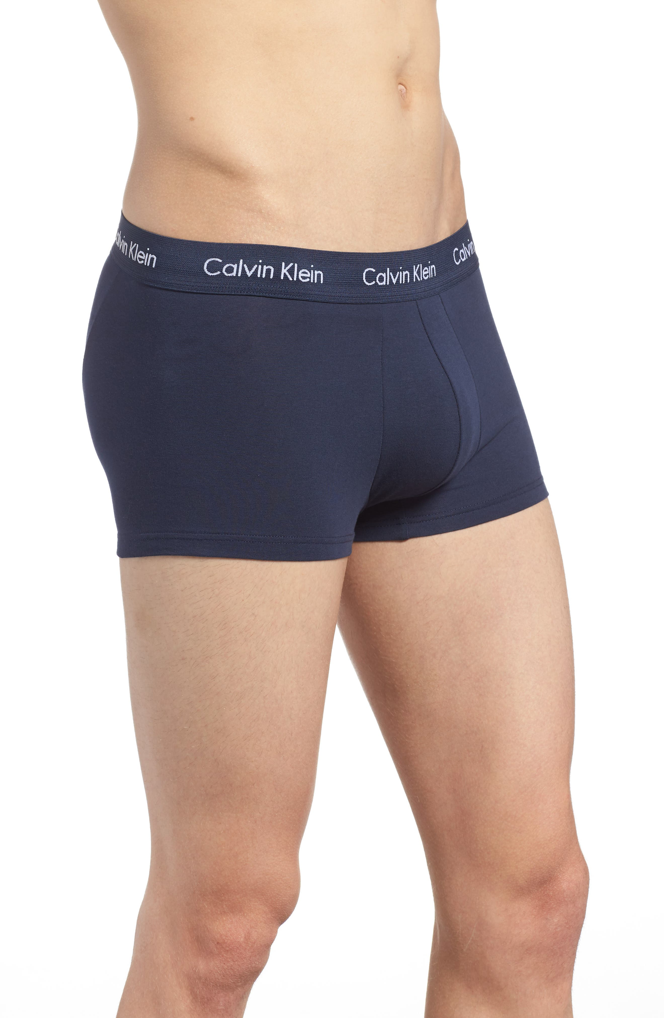 ,                             3-Pack Stretch Cotton Low Rise Trunks,                             Alternate thumbnail 97, color,                             404