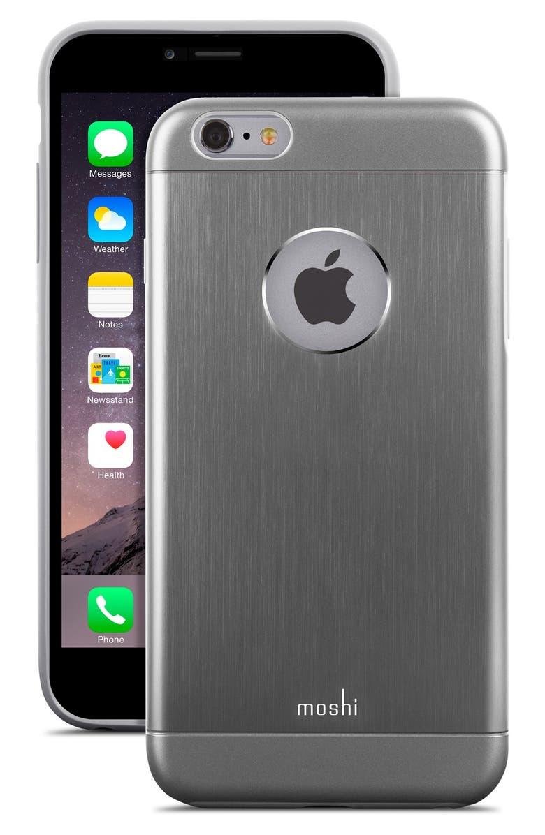 MOSHI 'iGlaze - Armour' iPhone 6 Plus & 6s Plus Case, Main, color, 001