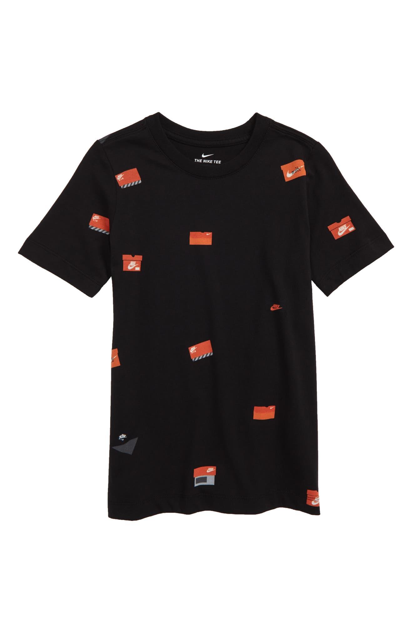 89debc26c0 Nike Sportswear Allover Shoebox Graphic T-Shirt (Little Boys & Big Boys) |  Nordstrom