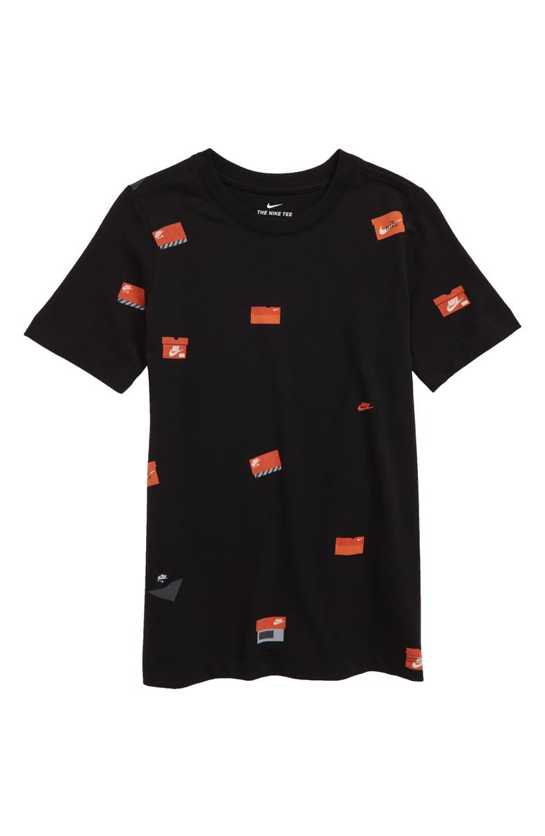 d86a62f87a Nike Sportswear Allover Shoebox Graphic T-Shirt (Little Boys & Big ...