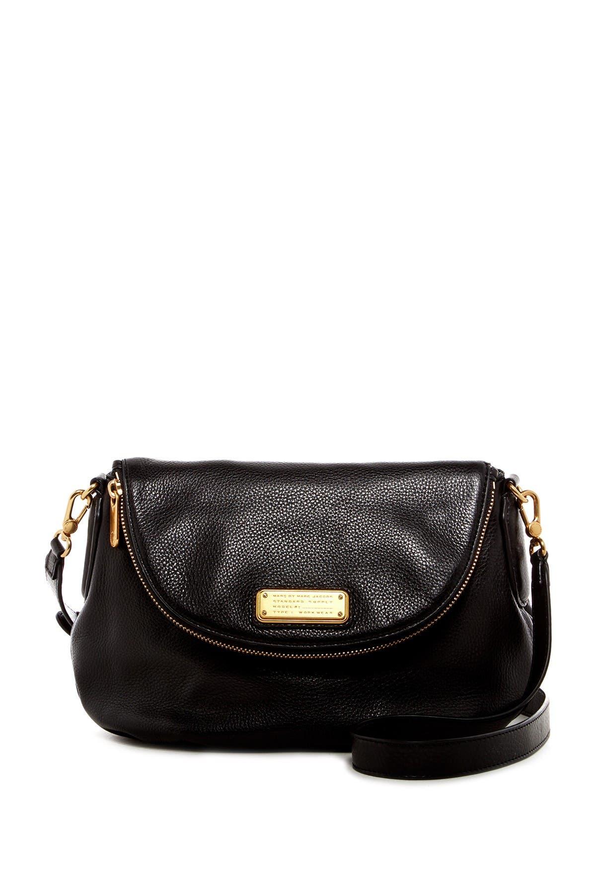 Image of Marc by Marc Jacobs Natasha Leather Crossbody Bag