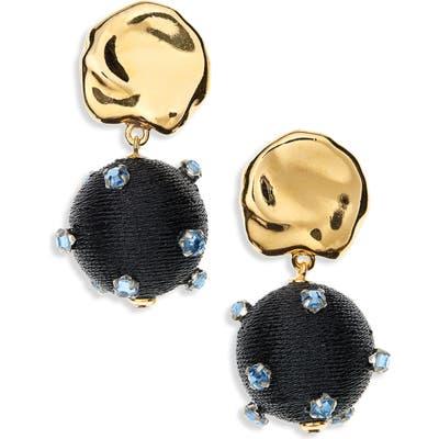 Lizzie Fortunato Sparkler Drop Earrings