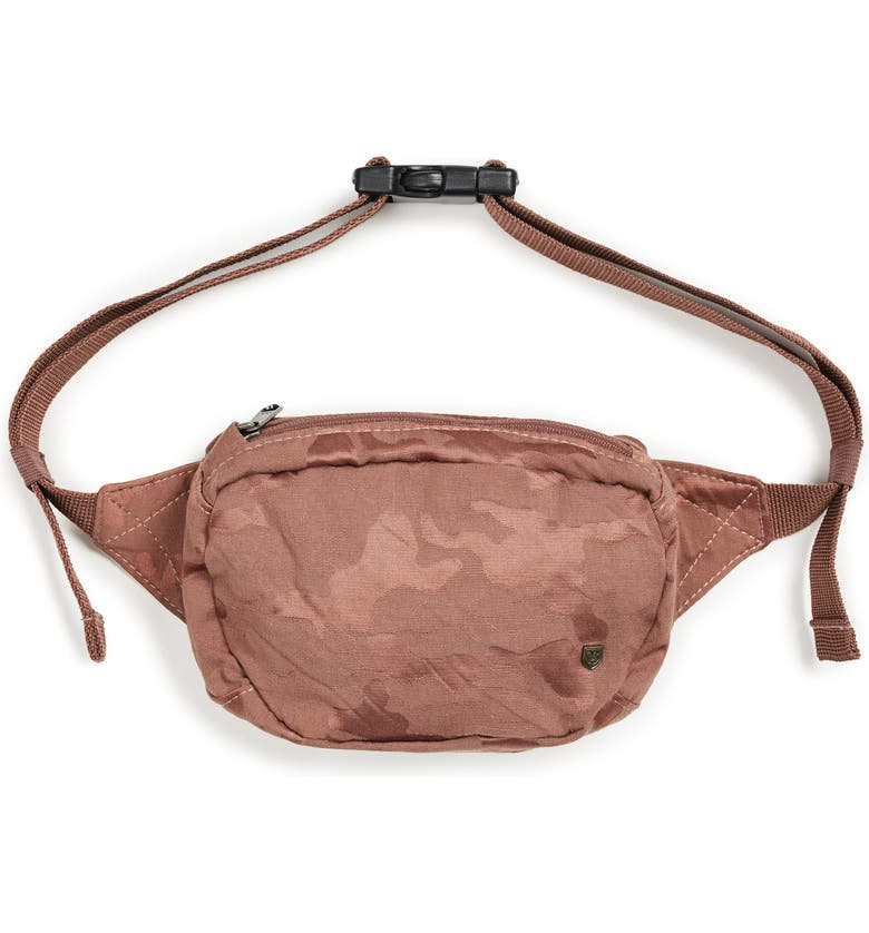 BRIXTON Delilah Belt Bag, Main, color, BLUSH CAMO