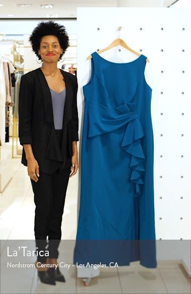 Ruffle Detail Gown, sales video thumbnail