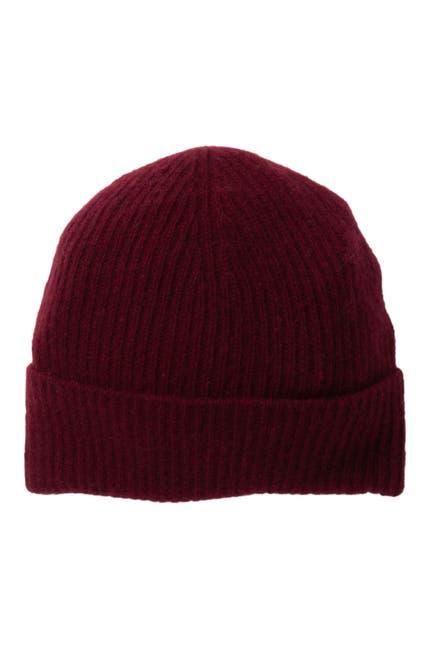 Image of Portolano Ribbed Cashmere Hat