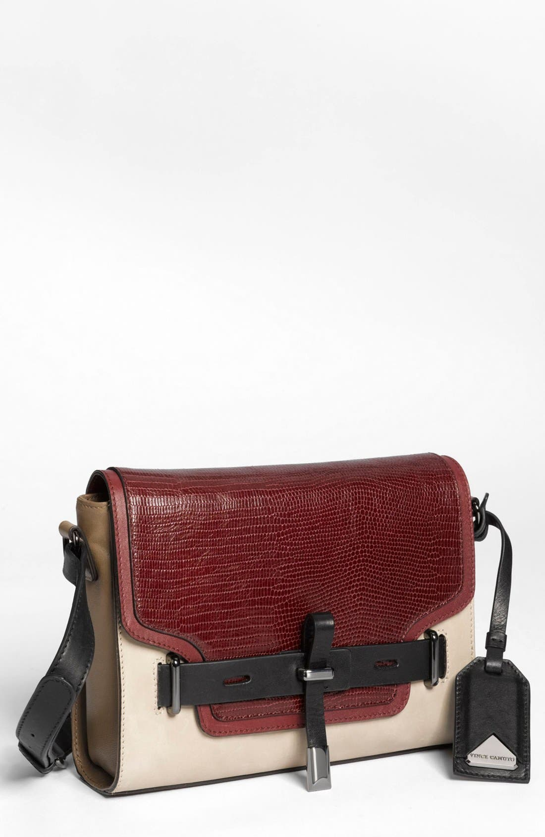 ,                             'Max' Leather Crossbody Bag,                             Main thumbnail 26, color,                             930