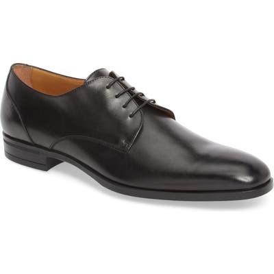 Boss Portland Plain Toe Derby, Black