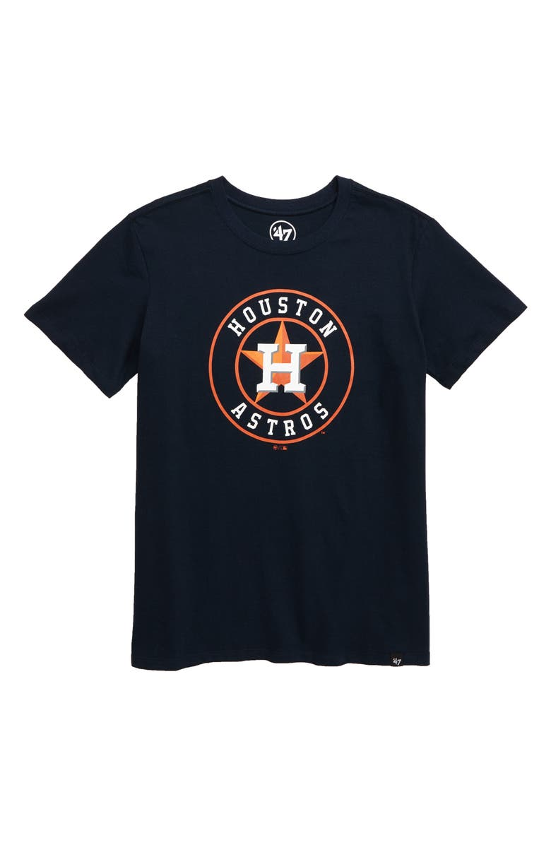 '47 Super Rival Houston Astros T-Shirt, Main, color, FALL NAVY