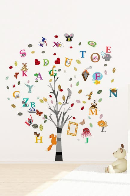 Image of WalPlus Colourful Photo & Alphabet Decal