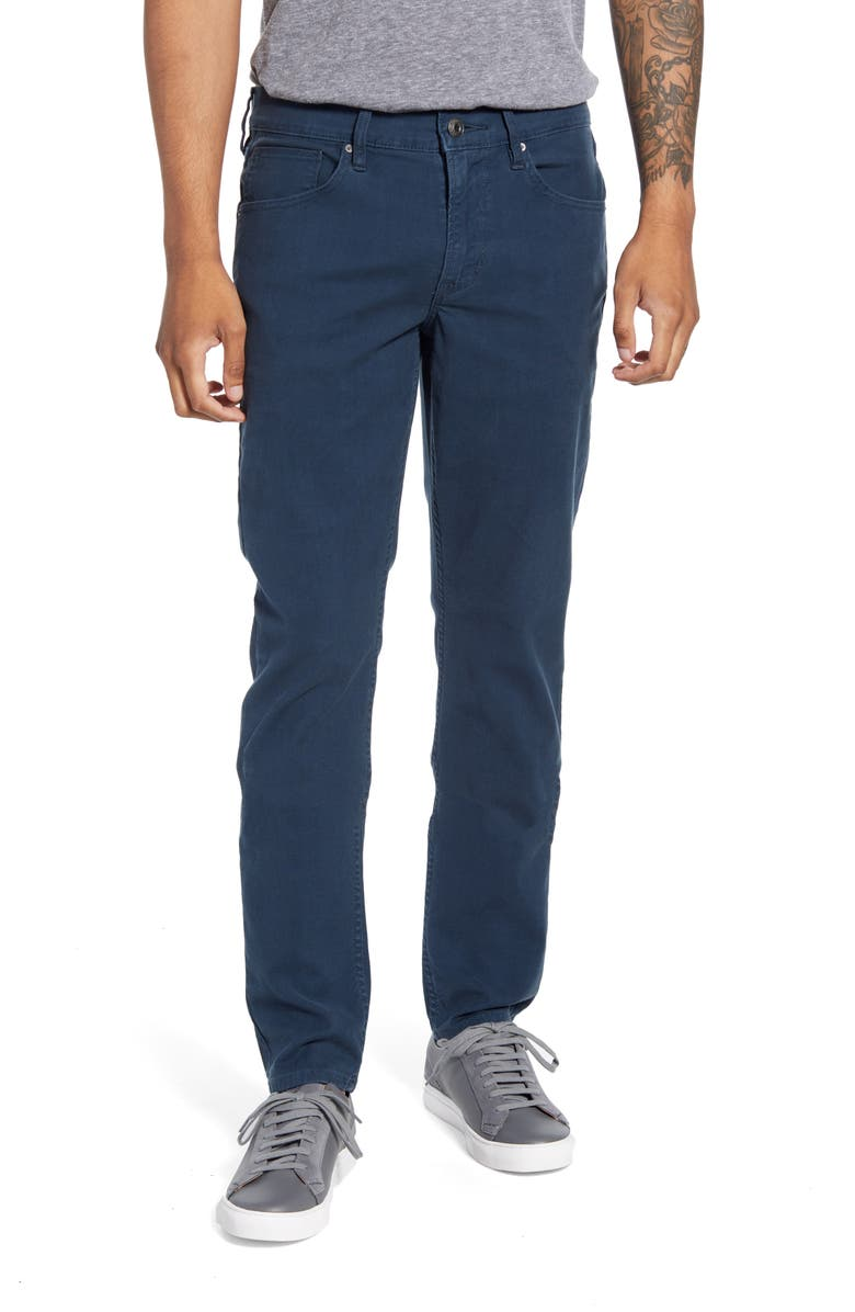 HUDSON JEANS Blake Slim Straight Leg Jeans, Main, color, MIDNIGHT NAVY