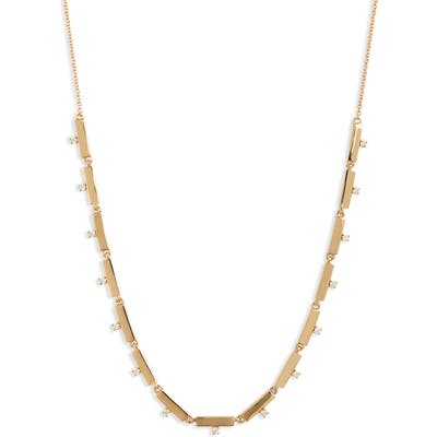 Bony Levy Kiera Scattered 18K Gold & Diamond Necklace (Nordstrom Exclusive)