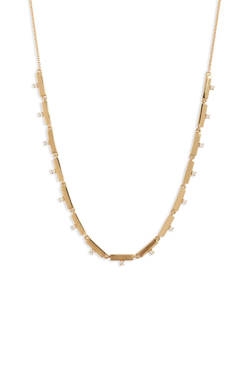 BONY LEVY Kiera Scattered 18K Gold & Diamond Necklace, Main, color, YELLOW GOLD/ DIAMOND