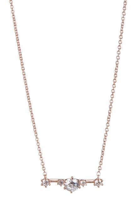 Image of NADRI Edward Bar Pendant Necklace