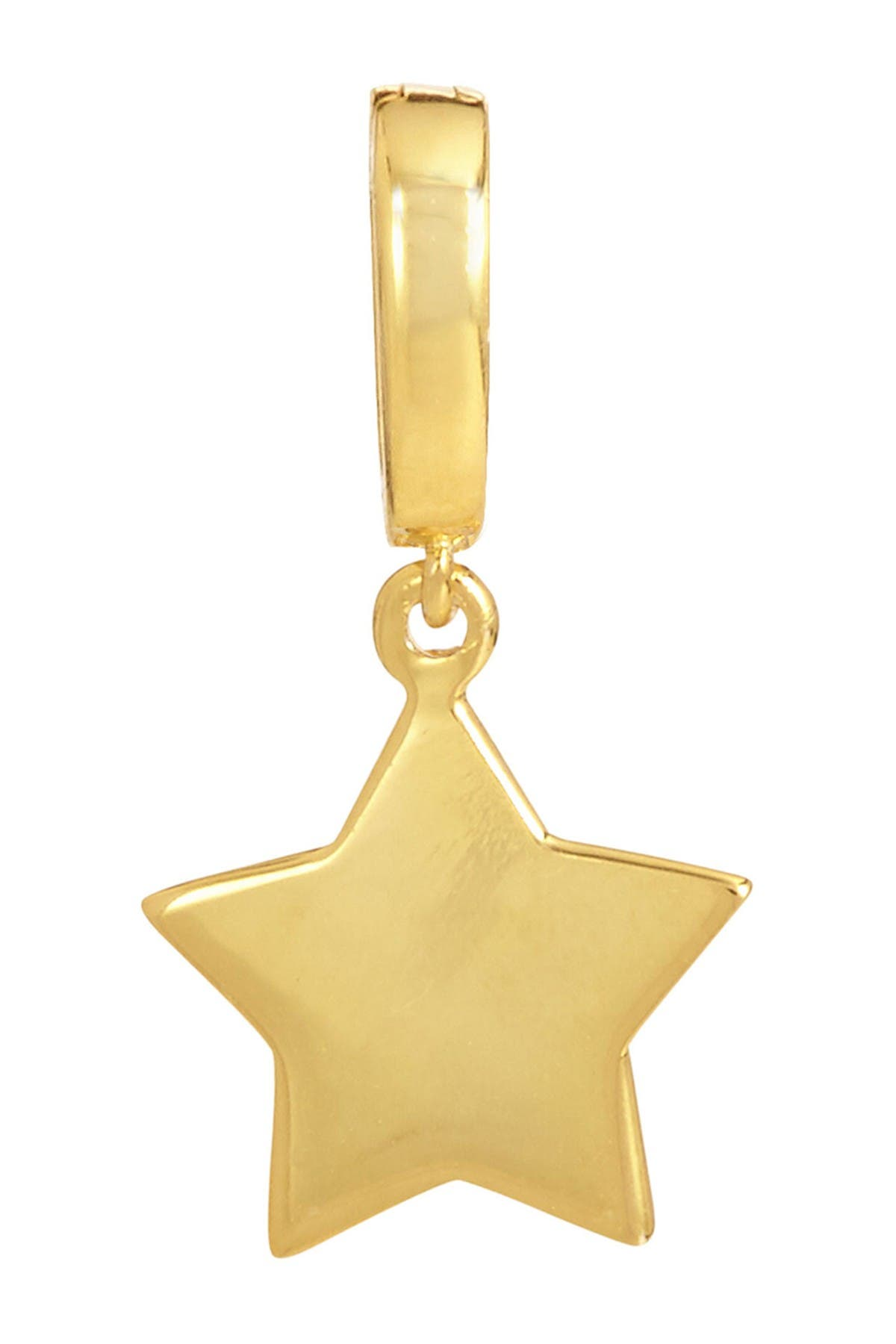 Image of Savvy Cie 18K Yellow Gold Vermeil Star Charm