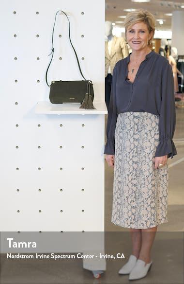 Demetra Tassel Leather Crossbody Bag, sales video thumbnail