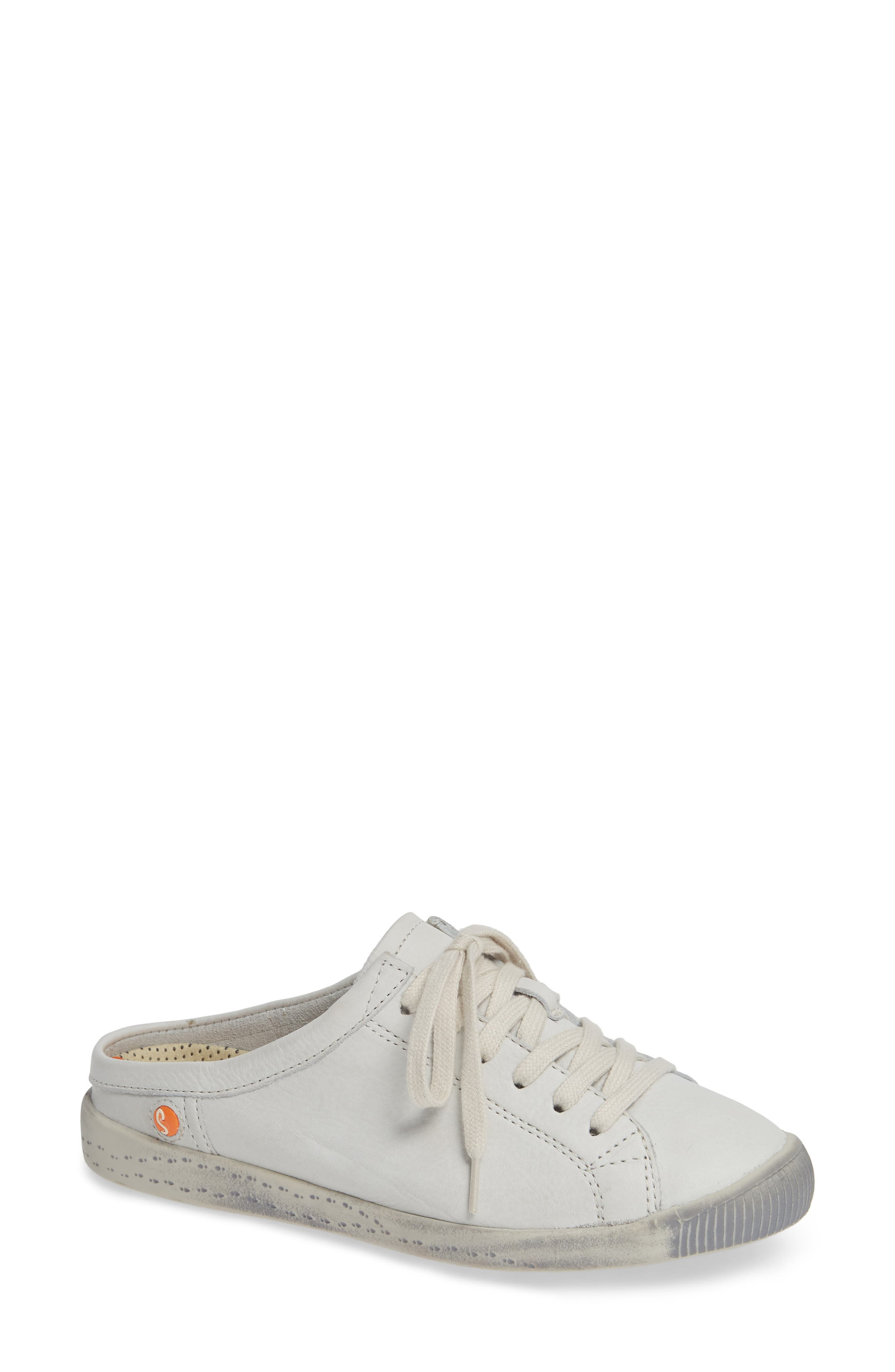 Softinos By Fly London Ije Sneaker Mule - White