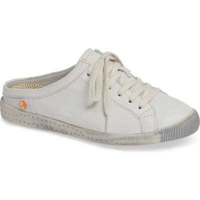 Softinos By Fly London Ije Sneaker Mule, White