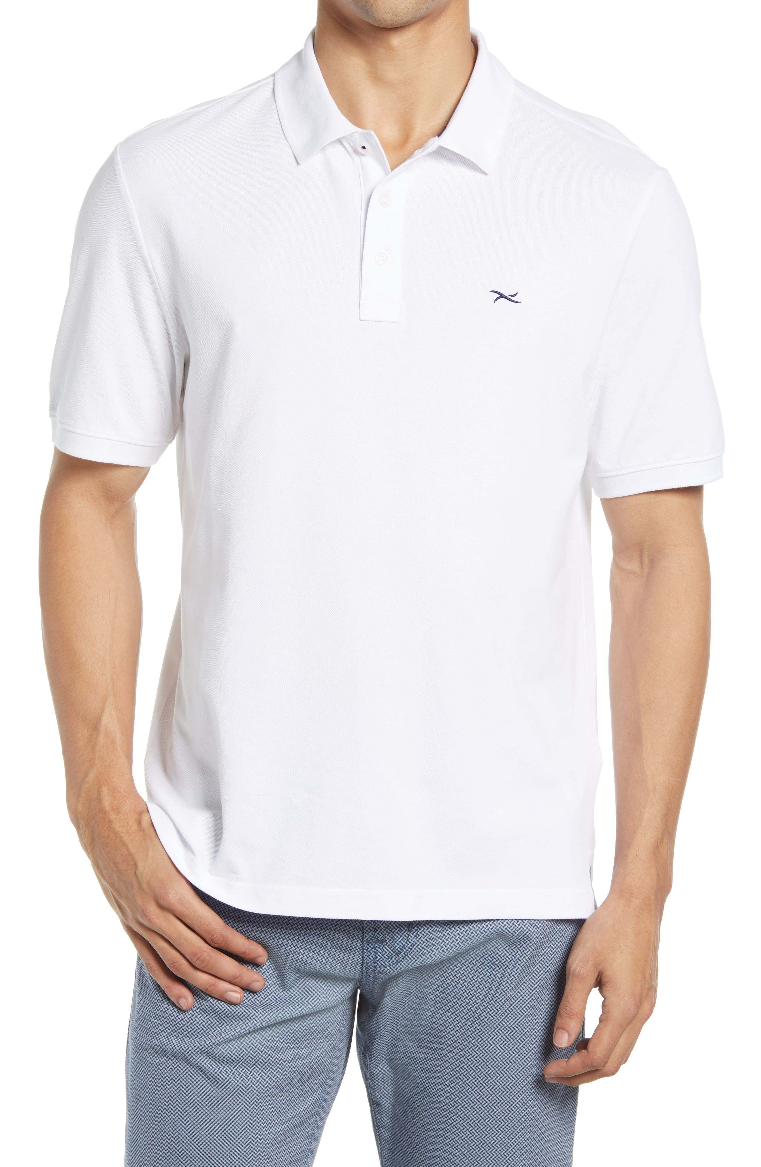 Pete Stretch Cotton Polo Shirt