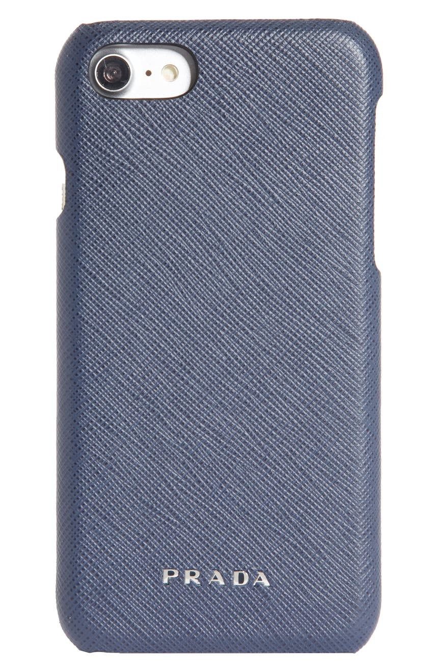 ac5475e11cf3 Prada Saffiano Leather iPhone 6/6s/7/8 Case | Nordstrom