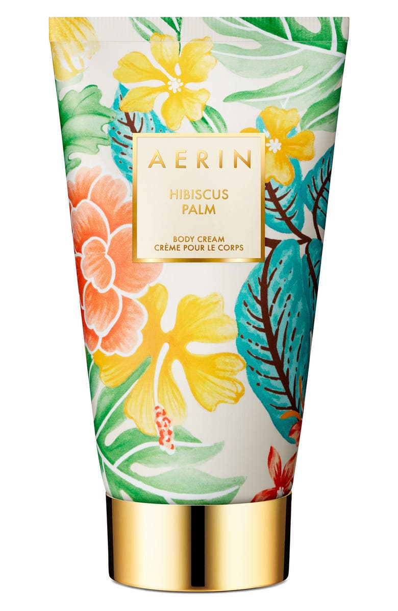 ESTÉE LAUDER AERIN Beauty Hibiscus Palm Body Cream, Main, color, NO COLOR