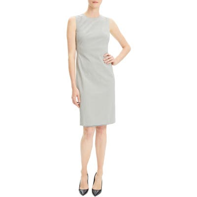 Theory Eano Good Wool Sheath Dress, Size - (Nordstrom Exclusive)