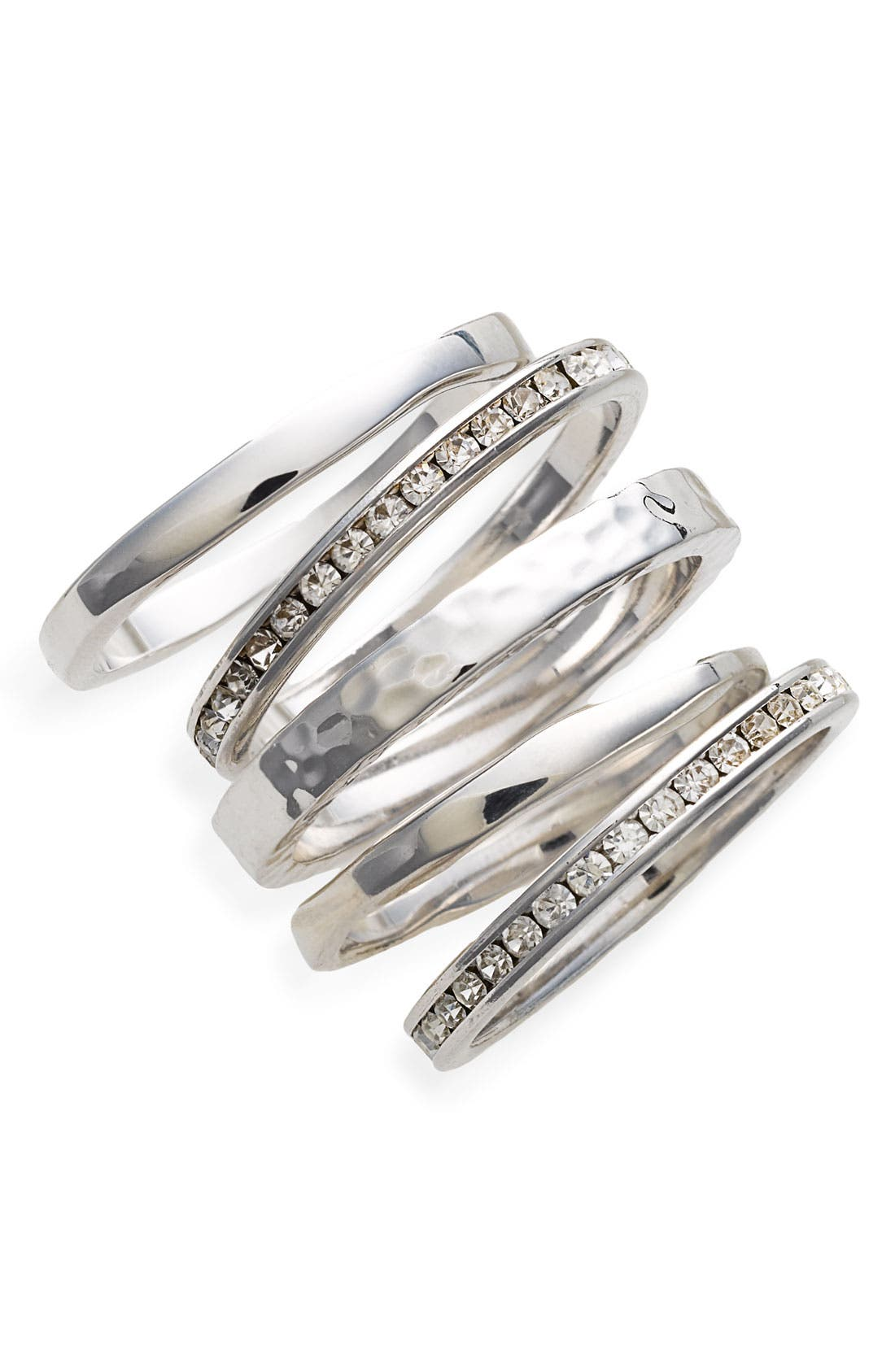 Slim Stackable Rings, Main, color, 040