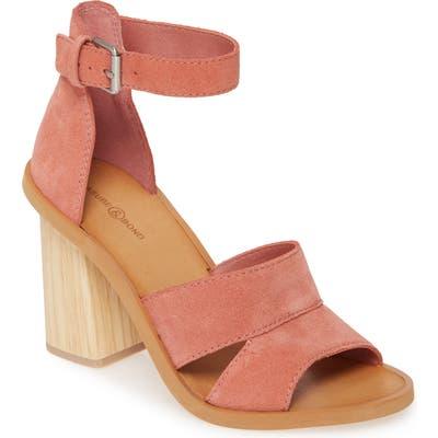 Treasure & Bond Audrey Ankle Strap Sandal, Pink