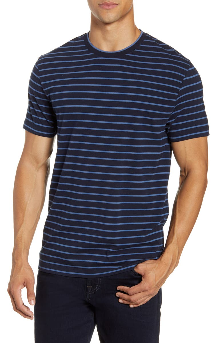 FRENCH CONNECTION Tim Stripe T-Shirt, Main, color, 481
